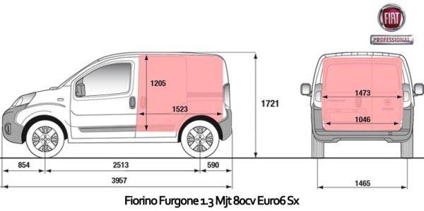 Fiat Fiorino Noleggio Lungo Termine
