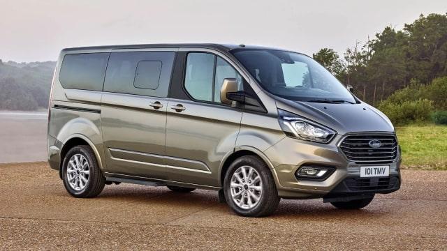 Noleggio furgoni elettrici Ford Tourneo
