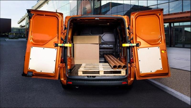 Ford Transit Custom capacità di carico