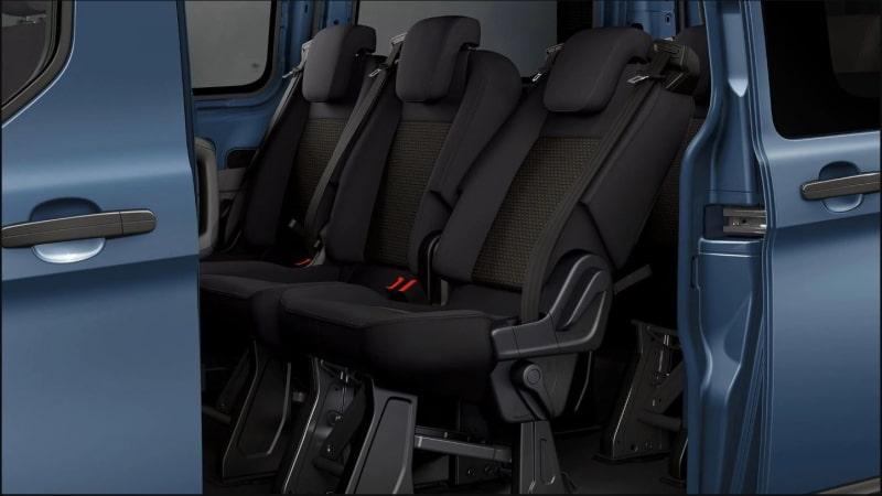 Ford Transit Custom Mild Hybrid sedili