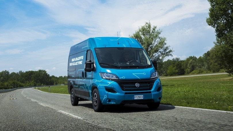 Fiat Ducato Elettrico 2020 nuovi furgoni 2020